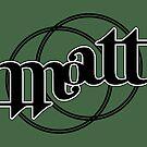Matt ambigram by black-ink