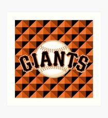 San Francisco Giants Art Print