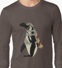 Rocket Penguin Long Sleeve T-Shirt