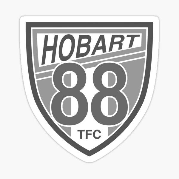 Hobart Table Football Club (Greyscale) Sticker