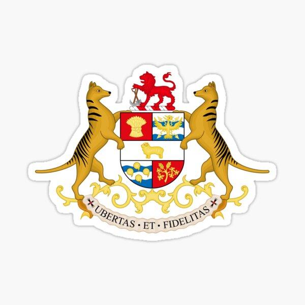 Coat of Arms of Tasmania Sticker