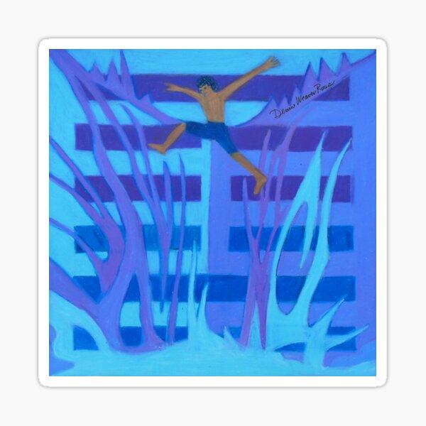 Hexagram 4: Mêng (Youthful Folly) Sticker