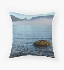 Early Morning at Lake St Clair Throw Pillow