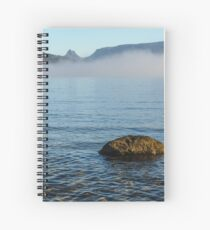 Early Morning at Lake St Clair Spiral Notebook