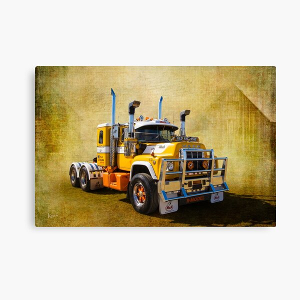 R Model Mack Canvas Print