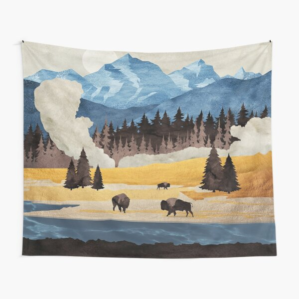 Yellowstone National Park - A Design to Celebrate America the Beautiful Tapestry