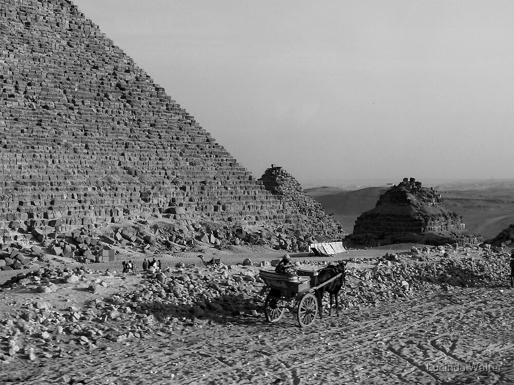 Viewing the Pyramid by Lucinda Walter