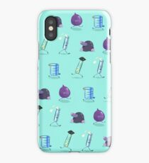 Chemistry Lab Equipment Repeating  iPhone Case