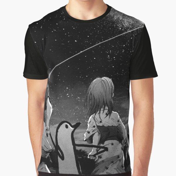 Oyasumi Punpun Vía Láctea Camiseta gráfica