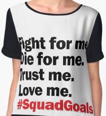 Alexander Hamilton #SquadGoals Women's Chiffon Top