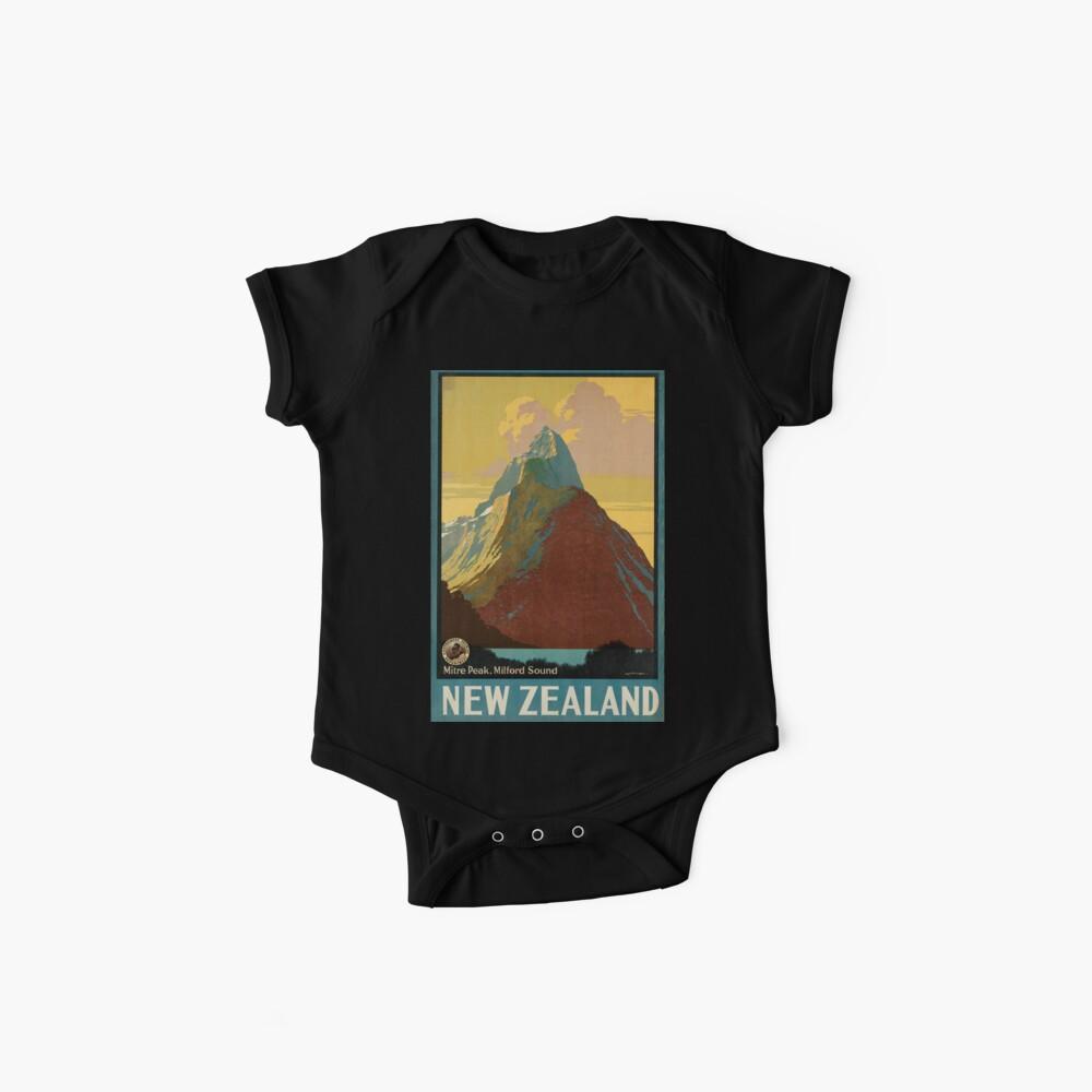 Cartel vintage - Nueva Zelanda Body para bebé