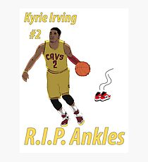 Kyrie Irving - R.I.P. Ankles Photographic Print