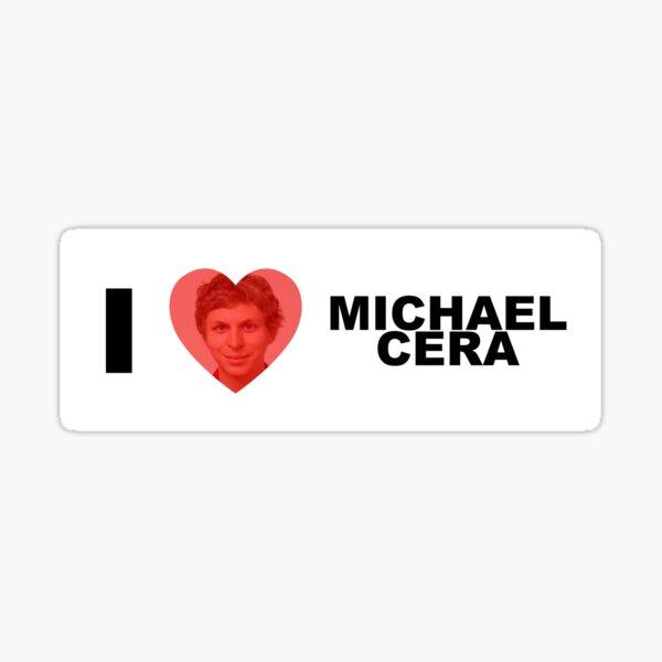 i heart michael cera Sticker