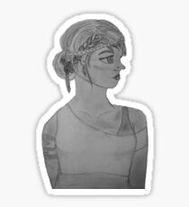 Piper McLean Pencil Drawing Sticker