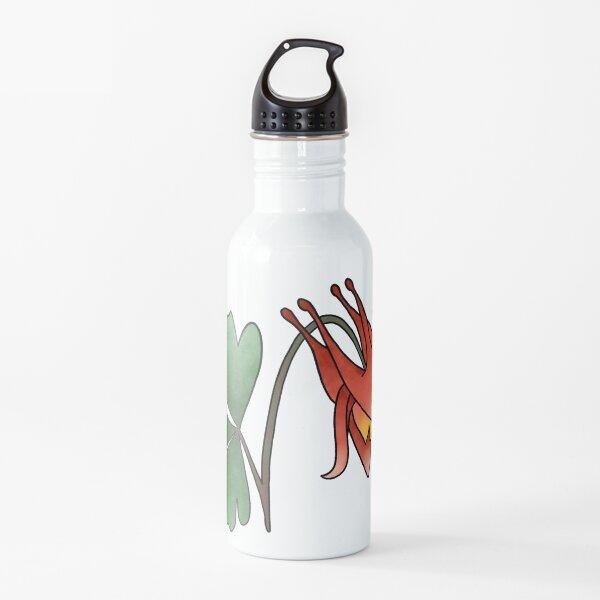 Columbine Flower Water Bottle