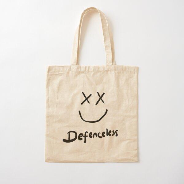 Defenseless Louis Tomlinson Cotton Tote Bag