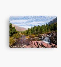 Redrock Falls Canvas Print