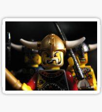 Vikings on the Rampage! Sticker