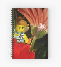 Fairy in the Flowers Spiral Notebook