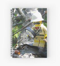 Ladybug Explorer Spiral Notebook