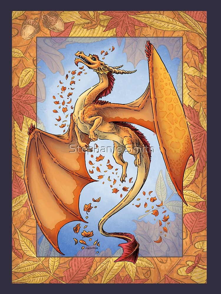 The Dragon of Autumn (framed) by stephsmith