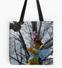 Opening the Spring Leaves Tote Bag