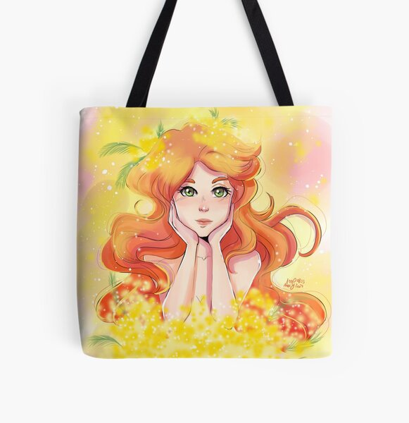 Mimosa All Over Print Tote Bag