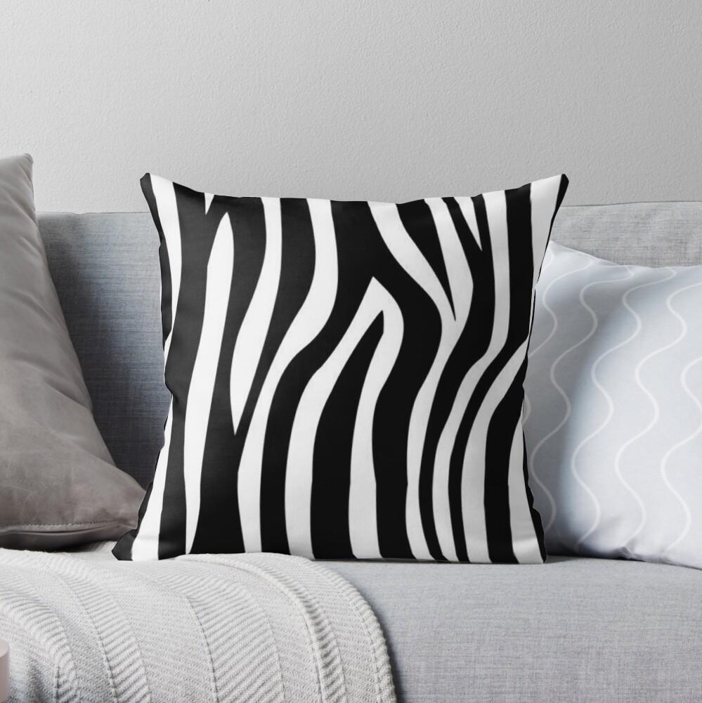 Zebra design  Throw Pillow