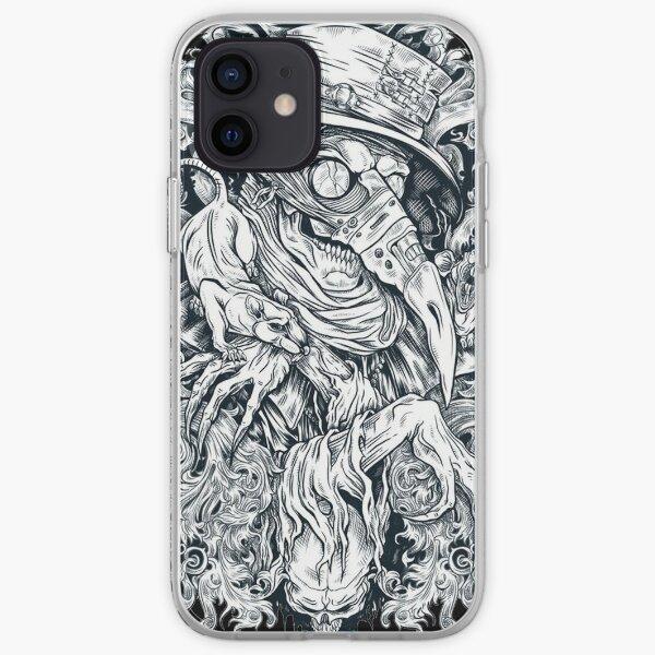La mort noire Coque souple iPhone