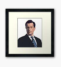 Stephen Colbert Framed Print