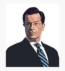 Stephen Colbert Photographic Print
