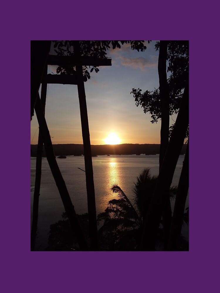 Philippine Sunset by brendajlillie
