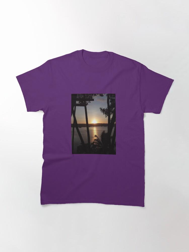 Alternate view of Philippine Sunset Classic T-Shirt