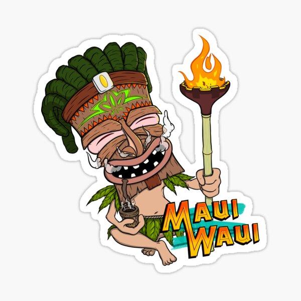 Maui Waui Sticker