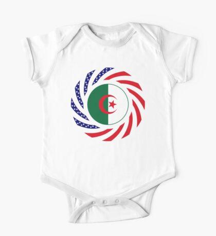 Algerian American Multinational Patriot Flag Kids Clothes