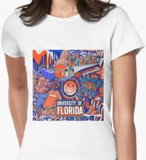 Florida Collage Women's Fitted T-Shirt