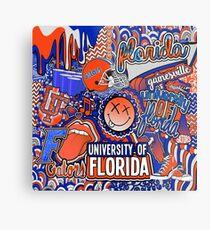Florida Collage Metal Print