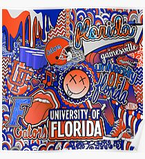 Florida Collage Poster