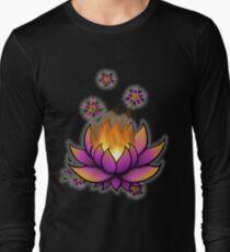 Flaming Lotus Long Sleeve T-Shirt