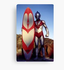 Surf Ultraman 1 Canvas Print