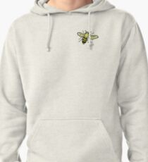 Friendly Bumble Bee Pullover Hoodie