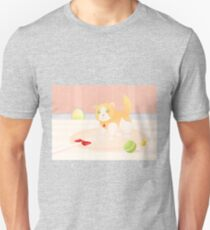 Cat playing in home T-Shirt