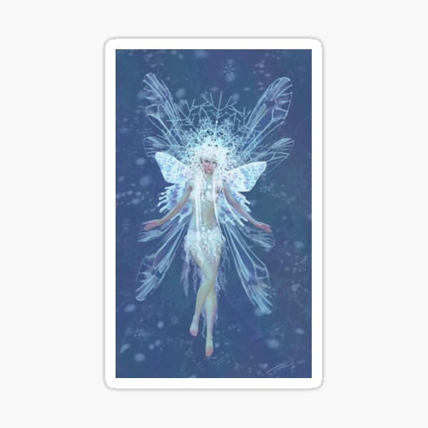 Snowflake fairy queen Sticker