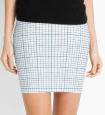 Graph Paper Mini Skirt