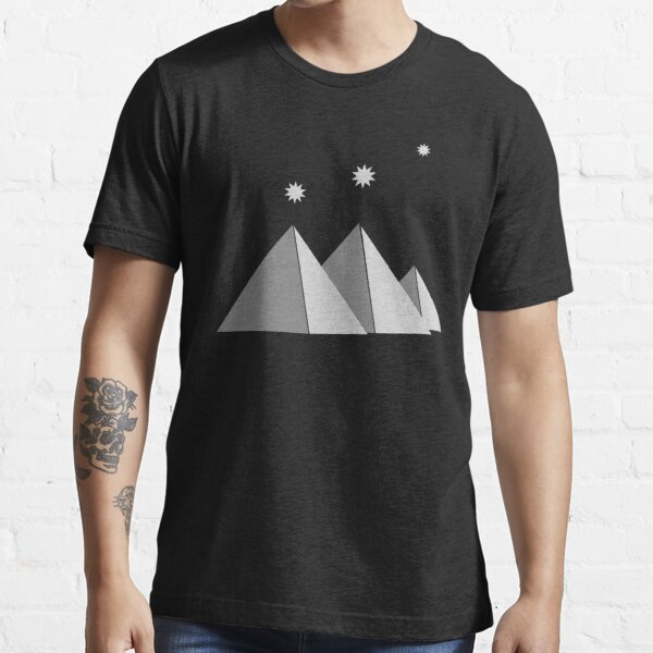 Giza Pyramids Stars of Orion's Belt  Essential T-Shirt
