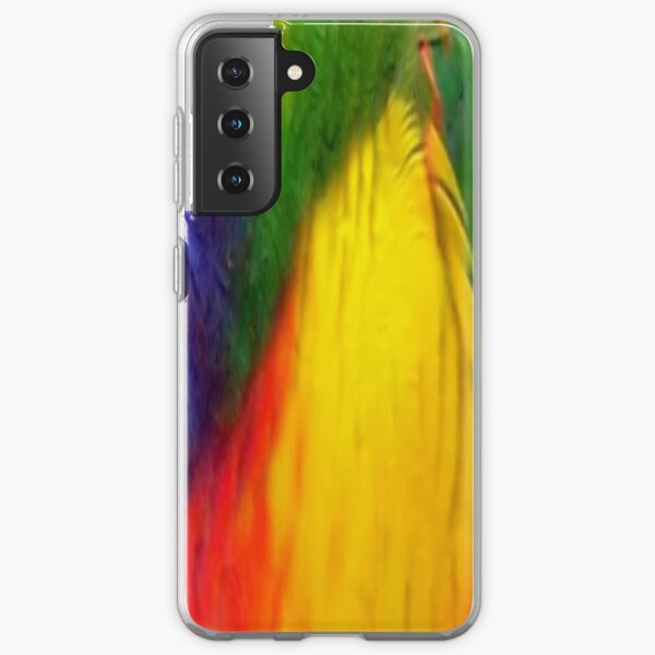Rainbow Lorikeet Samsung Galaxy Soft Case