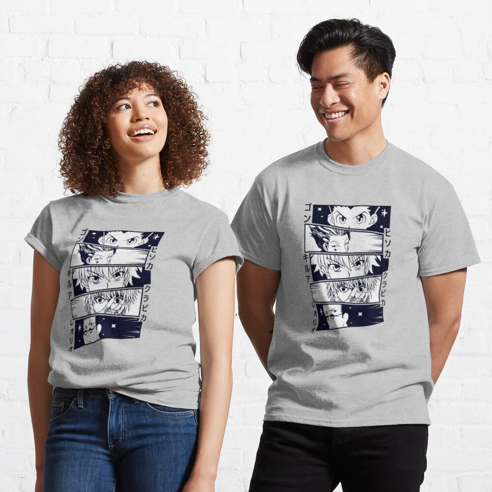 Anime Faces Classic T-Shirt