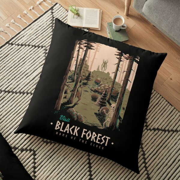 Black Forest Floor Pillow