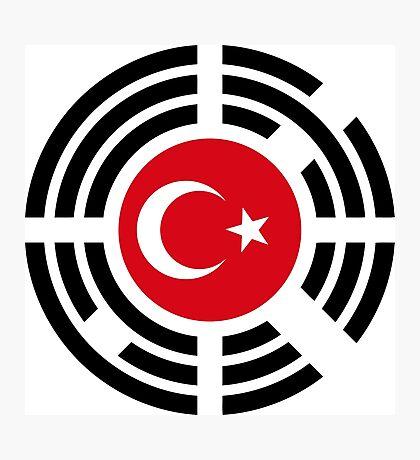 Korean Turkish Multinational Patriot Flag Series Photographic Print