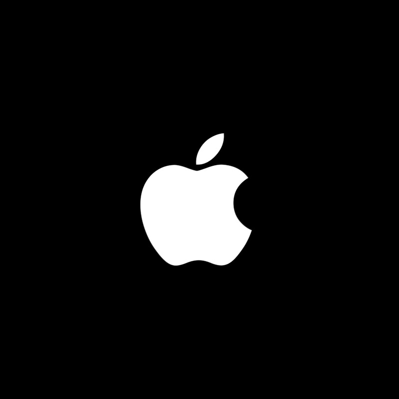 official apple logo. white official apple logo hd